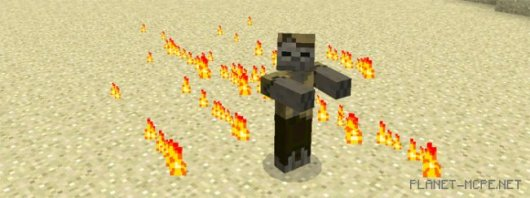 Мод Husk Boss Minecraft PE 0.14.3/0.14.2