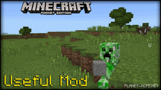 Мод Useful Minecraft PE 0.14.3/0.14.2
