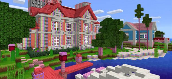Текстуры Kawaii World MCPE 0.15.6/0.15.3/0.15.2