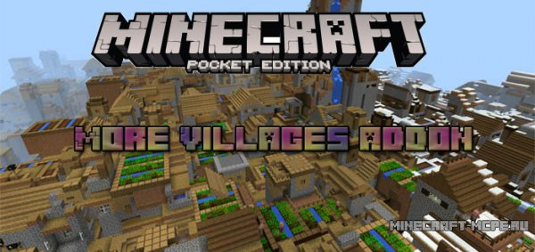 Мод More Villages Addon 0.16.0/0.15.9