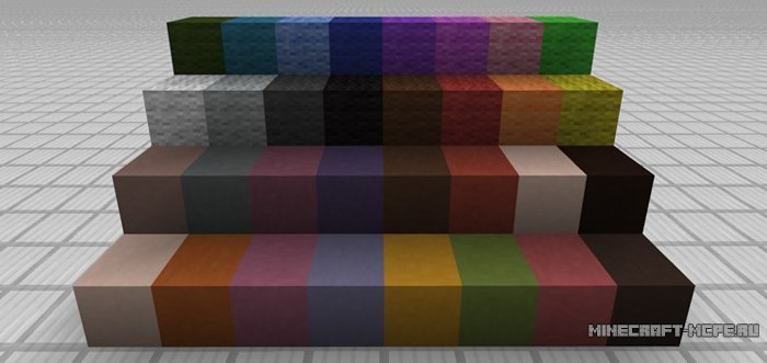 Текстуры New 1.12 Color Palette 1.0/0.17.0