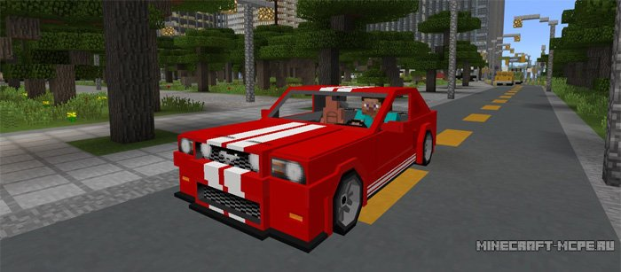 Мод Sports Car: Ford Mustang 1.0/0.17.0