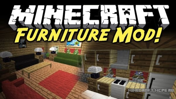 Mod Na Mebel Furniture Mod Dlya Minecraft Pe